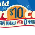 Pillsbury's You Could Win $10 Cash Instant Win Game