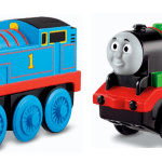 Thomas Wooden Railway – Battery-Operated Percy and Thomas the Tank Only $10 each (Reg. $22.99)!