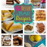 42 Dessert Bar Recipes