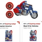*HOT* Target: 50% off Captain America Soldier Gear and Vehicles (Today Only!)