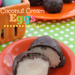 Chocolate Dipped Coconut Cream Eggs