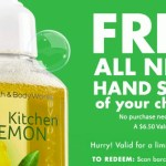 *HOT* FREE Bath & Body Works hand Soap (Check Your Emails!) Mine Came!
