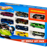 Amazon: Hot Wheels 9-Car Gift Pack Only $6.00 (Reg. $12)! – Great for Easter Baskets!