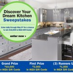 Enter to Win $10,000, $3,000 or $1,000 in IKEA Gift Cards!