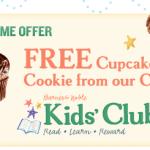 Barnes & Noble: FREE Cupcake on Kid's Birthday!