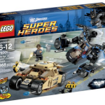 LEGO Super Heroes Tumbler Chase + 3 Minifigures Only $23.99 (Reg. $39.99)!