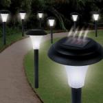 Garden Creations Solar-Powered LED Accent Light, Set of 8 Only $15.49 (Reg. $39.99!)
