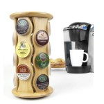 Amazon: Keurig Bamboo Carousel K-Cup Holder Only $10.93 (Reg. $24.99)!