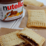 Homemade Nutella Pop Tarts