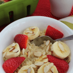 Strawberry Banana Quinoa Breakfast