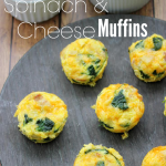 Spinach & Cheese Frittata Muffins