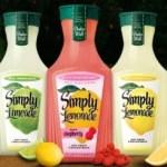 Simply Lemonade or Limeade $1.25 at Walmart