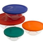 Amazon: Pyrex 8-Piece Mixing Bowl Set W/Colored Lids Only $15.28 (Reg. $24.49)!