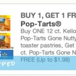 Rare FREE 6-Count Box of Pop-Tarts Gone Nutty wyb 12 Count Coupon
