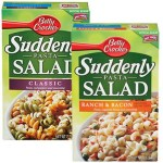 FREE Full-Size Suddenly Salad (First 10,000) Betty Crocker Members!