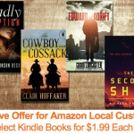 Amazon Local: FREE Voucher to Purchase Select Kindle Books for $1.99