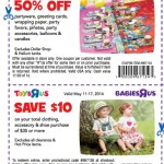 Toys R Us Coupon: *HOT* 50% Off Party Items and $10 off a $35 Purchase!
