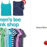 Target: Tees & Camis Only $4.40 (Thru 5/24)