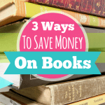 3 Ways To Save Money On Books