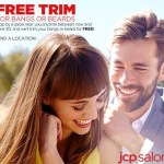 JcPenney: FREE Bangs or Beard Trim All JUNE!