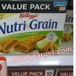 Target: Kellogg's Nutri-Grain Bars Value Packs Only $0.50