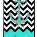 Chevron Black and Turquoise iPhone 5 5s Case Only $2.45 Shipped!