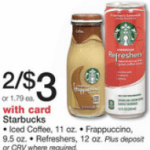 *HOT* Starbucks Refreshers Beverage Only $0.50!