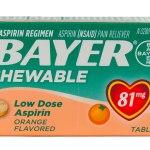 Walgreens: Bayer Aspirin Chewable Products Just $0.24 (Thru 7/19)