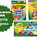 *HOT* Rare $10 in New Crayola Coupons