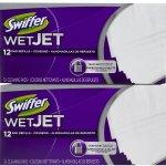 Walgreens: Swiffer Wet Jet Refill Cloths Only $3.23 (Thru 7/12)