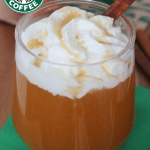 Copycat Starbucks Caramel Apple Spice Cider AND Cinnamon Dolce Syrup Recipe