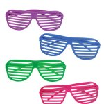 Amazon: 12 Pairs of 80's Shutter Shade Sunglasses Only $5.04
