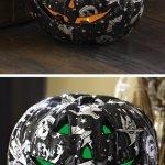 Amazon: Lighted Black Halloween Decorative Pumpkin Only $10.96 Shipped (Reg. $29.99)