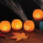 Amazon: Halloween Jack O Lantern Tea Lights Set of 4 Only $13.96 Shipped
