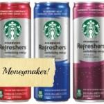 $1.00 Moneymaker on Starbucks Refreshers at CVS