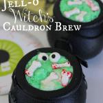 Jell-O Witch's Cauldron Brew (Halloween Recipe)