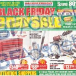 Harbor Freight Black Friday Ad 2014