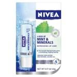 Target: Nivea Mint & Minerals Lip Balm Only $0.99