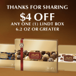 Walgreens: Box of Lindt Chocolates Only $3.99