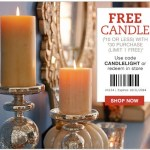 FREE Candle from Pier 1 Imports ($10 Value) with $30 Purchase!