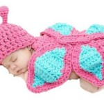 Baby Newborn Knit Crochet Butterfly Outfit Only $5.74 + FREE Shipping