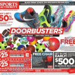 Sports Authority Black Friday Ad 2014