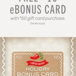 *HOT* FREE $10 Chili's Gift Card with $50 Purchase (+ FREE Appetizers, Dessert and Kids meal!)