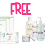 *HOT* 2 FREE Organic Diaper and Cleaning Bundles (Diapers, Wipes, Lotion, Shampoo, Body Wash, Hand Soap, and Laundry Detergent)