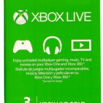Microsoft Xbox Live 3 Month Gold Card ONLY $12.49 (Reg. $24.99)!