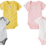 Burt's Bees Baby Organic Bee Essentials Bodysuits ONLY $2.60 each!