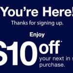 FREE $10 Gap Gift Card = FREEBIES!