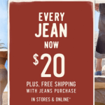 *HOT* Hollister: Men's & Women's Jeans Only $20 + FREE Shipping (Reg. $59.95!)