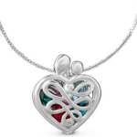 Amazon: Sterling Silver Mother's Heart Birthstone Locket, Small Only $37.99 Shipped (Reg. $50)