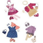 Target.com: Our Generation Outfit Bundles (4 Outfits) Only $15 Shipped (Reg. $54.99!)